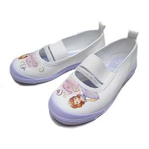 ディズニー 子供靴 ソフィアバレー01 パープル ディズニー「ちいさなプリンセスソフィア」の上履き キッズ 靴|nws