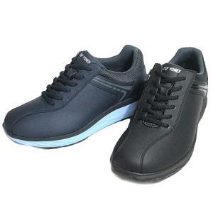 ヨネックス YONEX パワークッションMC103 ファスナー付きウォーキングシューズ ワイズ:3.5E メンズ 靴|nws