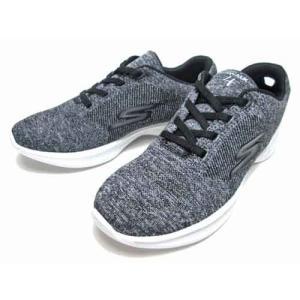 スケッチャーズ SKECHERS ゴーウォーク 4 チェリッシュ ウォーキングシューズ ブラックホワイト レディース 靴|nws