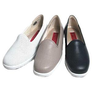 サロンドグレー SALON DE GRES パンチングオペラシューズ レディース 靴|nws