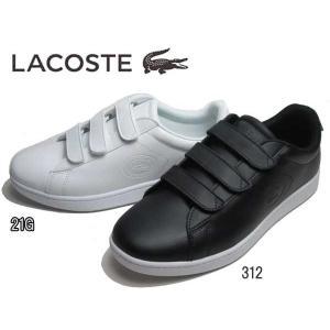 ラコステ LACOSTE CARNABY EVO STRAP 318 3 スニーカー メンズ 靴|nws