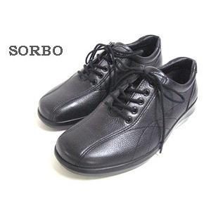 Achilles SORBO アキレスソルボ コンフォート・ウォーキングレースアップシューズ レディース カラー:ブラック【靴】