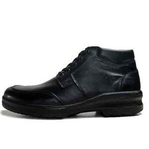 ムーンスター MOONSTAR レースアップブーツ 紳士ブーツ ブラック メンズ 靴|nws