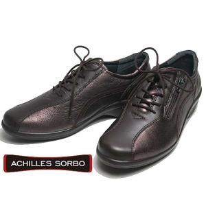 アキレスソルボ Achilles SORBO レースアップウォーキングシューズ  コーヒーブロンズ レディース 靴 nws
