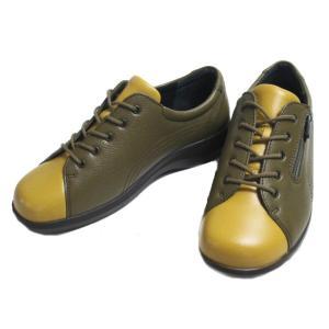 アキレスソルボ Achilles SORBO 052 3E コンフォートシューズ オリーブマスタード レディース 靴 nws