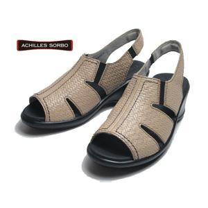 アキレス ソルボ ACHILLES SORBO 061 ベージュ コンフォートサンダル レディース 靴|nws