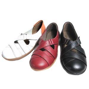 アキレスソルボ Achilles SORBO コンフォート カジュアルシューズ 面ファスナー付バンド レディース 靴|nws