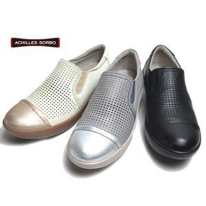 アキレス ソルボ ACHILLES SORBO 441 ワイズ3E スリッポン ウォーキングシューズ レディース 靴|nws