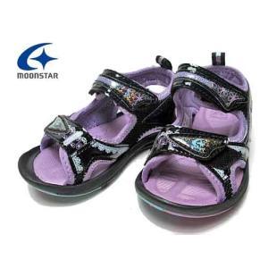 ムーンスター MOONSTAR スーパースター チャイルド バネのチカラ 女児用キッズサンダル キッズ 靴|nws