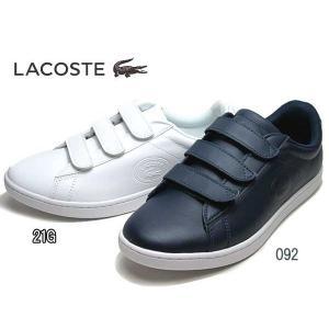 ラコステ LACOSTE ウィメンズ CARNABY EVO STRAP 318 1 スニーカー レディース 靴|nws