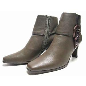 tehen ベルトデザインショートブーツ カーキ レディース・靴|nws