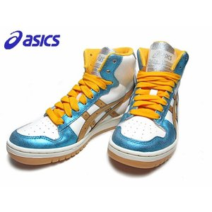 asics アシックス PROCOURT BOOYS プロコートブーツ レディーススニーカー カラー:パールホワイトゴールド|nws