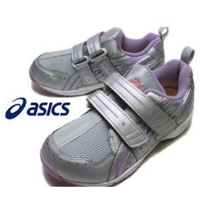 アシックス asics スクスクミニ GD ランナー ガール ミニ ランニングスタイル シルバー×ラベンダー  キッズ 靴|nws