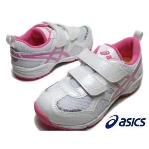 アシックス asics スクスクミニ TIARAMINI MG 4 ランニングスタイル ホワイト×ピンク   キッズ 靴|nws