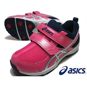 アシックス asics スクスクミニ TOPSPEED MINI 3 ランニングスタイル キャンディピンクシルバー  キッズ 靴|nws