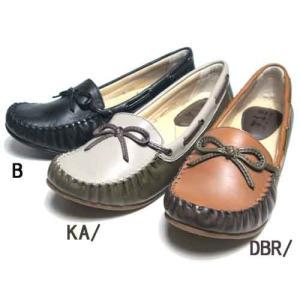 ビス Vis リボンデザインモカシンシューズ レディース・靴|nws