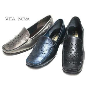 ヴィタノーヴァ VITA NOVA 9958 パンチングモカシン レディース 靴|nws