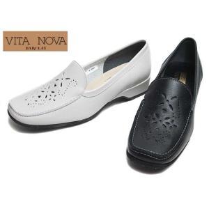 ヴィタノーヴァ VITA NOVA 9968 パンチングモカシンローファー レディース 靴|nws