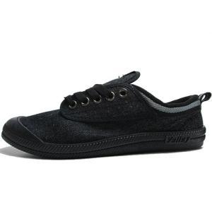 ボレー Volley キャンバススニーカー ブラック メンズ 靴|nws