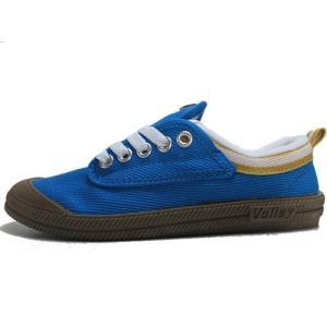 ボレー Volley キャンバススニーカー ブルー メンズ レディース 靴|nws