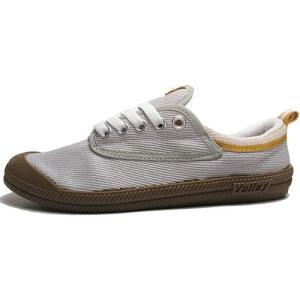 ボレー Volley キャンバススニーカー グレー メンズ レディース 靴|nws