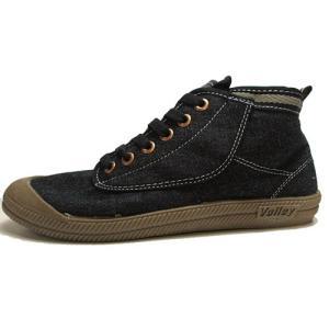 ボレー Volley ミッドカットタイプ スニーカー ブラック メンズ レディース 靴|nws