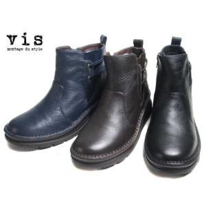 ビス vis VSSQ98000 ワイズ4E ショートブーツ レディース 靴|nws