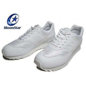 わけあり商品 ムーンスター トレパスシグマ 通学履き 運動靴 ホワイトN メンズ レディース 靴|nws