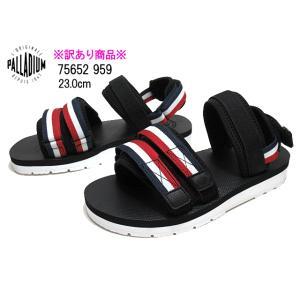 【わけあり商品】パラディウム PALLADIUM 75652 23.0cm ブラックトリコロール OUTDOORSY サンダル レディース 靴|nws