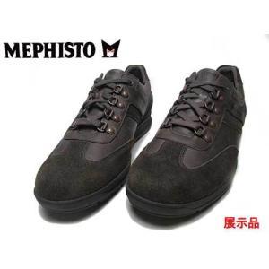 わけあり商品 メフィスト MEPHISTO ゴードン ウォーキングシューズ ダークオーク 25.0cm メンズ 靴|nws