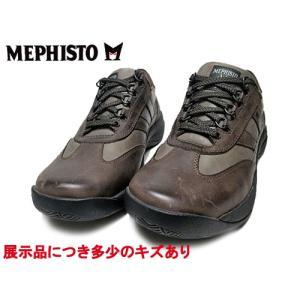 わけあり商品 メフィスト MEPHISTO ハッボ HABBO ウォーキングシューズ ダークトープ 24.5cm メンズ 靴|nws