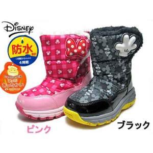 ムーンスター ディズニー ミッキー&ミニー ウインターブーツ キッズ 靴|nws