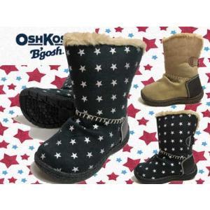 オシュコシュ OSHKOSH ムートンブーツ ジュニア用ウィンターブーツ 2WAY仕様 キッズ 靴|nws