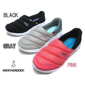 ウェザーコック WEATHERCOCK カジュアルスニーカー スリッポン シューズ レディース 靴|nws