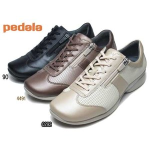 アシックス ペダラ asics Pedala レースアップシューズ ファスナー付き ワイズ 2E レディース 靴|nws