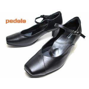 アシックス ペダラ asics Pedala WP357T 3E ストラップパンプス ブラック レディース 靴|nws