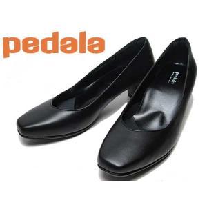 アシックス ペダラ asics PEDALA プレーンパンプス 3E ブラック レディース 靴|nws