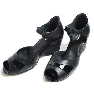アシックス ペダラ  asics Pedala オープントゥストラップウォーキングシューズ ブラック レディース・靴|nws