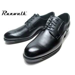アシックス asics ランウォーク Runwalk プレーントゥ レースアップシューズ ビジネスシューズ ブラック メンズ 靴 nws