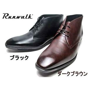 アシックス asics ランウォーク Runwalk プレーントゥ チャッカーブーツタイプ ビジネスシューズ メンズ 靴 nws
