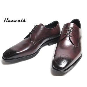 アシックス asics ランウォーク Runwalk メダリオン レッドブラウン ビジネスシューズ 3E メンズ 靴 nws