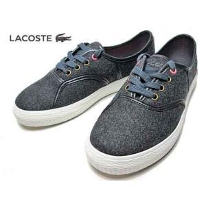 ラコステ LACOSTE ルネヴォルトスター RENE VAULTSTAR AP SRW   チャンキータイプ ダークグレーレディース 靴|nws