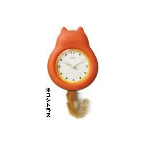 timestone スイングスイング 掛時計 ネコシトラス 猫雑貨/猫グッズ|nyan-marche