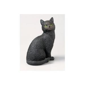 オーナメントねこ(おすまし) ブラック・ブラウン 猫雑貨/猫グッズ|nyan-marche