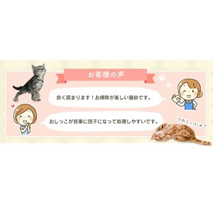 (タイムセール) 炭の猫砂 7L×4袋 アイリスオーヤマ 猫砂 炭 固まる 燃える おすすめ ペットトイレ あすつく|nyanko|08