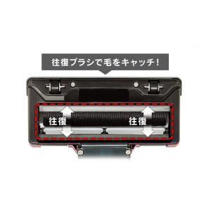 掃除機 サイクロンスティッククリーナー 超吸引毛取りヘッド レッド ESC-55K-R 新生活 掃除 おすすめ 紙パック不要 コンパクト 軽量|nyanko|05