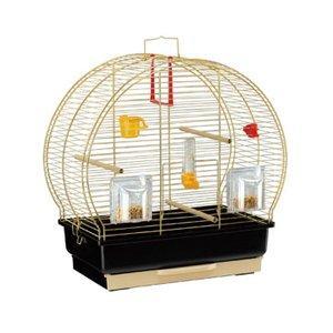 ルナ2 52005502 ゴールド ファンタジーワールド ( 鳥用 バード カナリア インコ 鳥かご ケージ )|nyanko