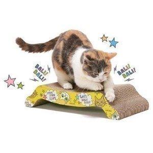 バリバリ ベッドM (猫 爪とぎ キャット 段ボール 爪みがき つめとぎ)|nyanko