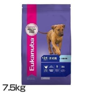 ユーカヌバ Eukanuba ラージ パピー 子犬用 大型犬用 〜24ヶ月まで 7.5kg ロイヤルカナンジャポン (D) ドッグフード ペットフード 犬|nyanko
