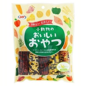 NPF 小動物のおいしいおやつ ミニコーン 5本  ジャペル (D)(B) nyanko